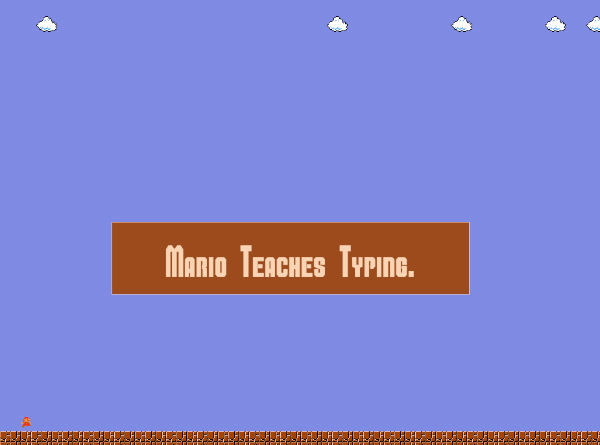 mario-teaches-typing
